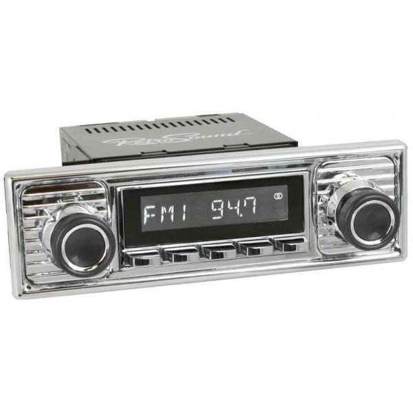 Radio RetroSound SD Chrom Scalloped (DAB)