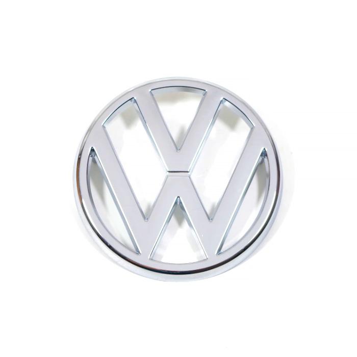 321853601 Emblemat VW (Chrom) Przedni Grill VW Golf 1 / Cabrio