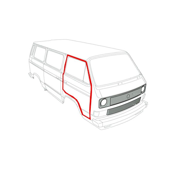 251837911B Uszczelka Drzwi VW Bus T3