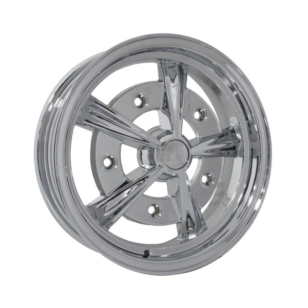 "Felga SSP Raider Alloy Wheel Chrome 5Jx15"" VW Garbus / Cabrio"