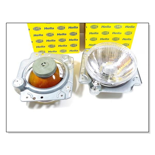 Lampy Reflektory Przednie Hella VW Golf 2