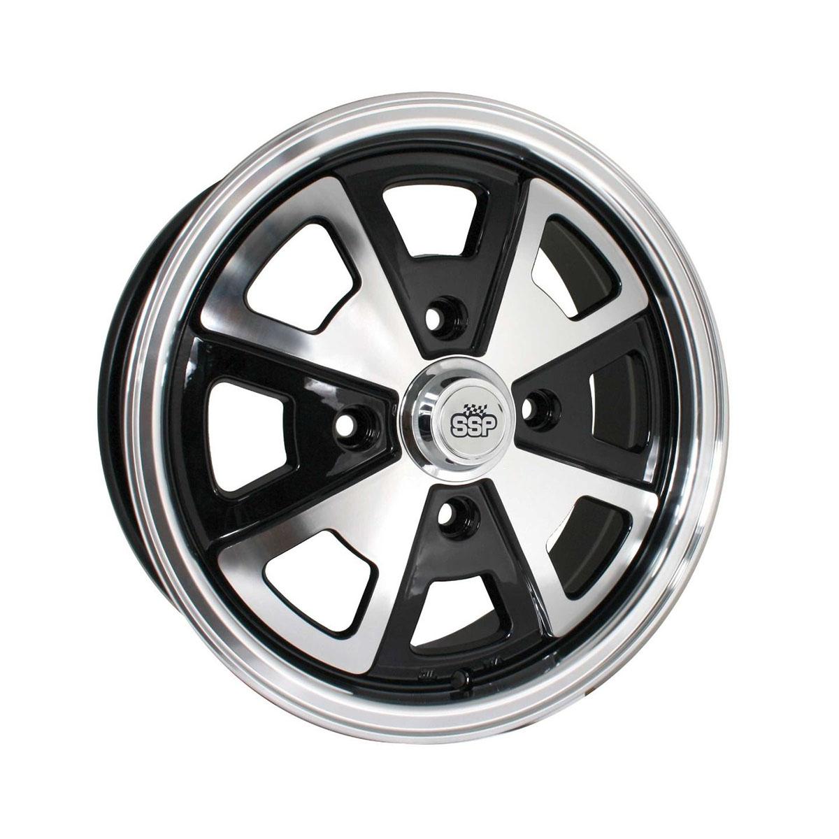 "Felga SSP 914 Style Alloy Wheel Black 5.5Jx15"" VW Garbus, Karmann Ghia"