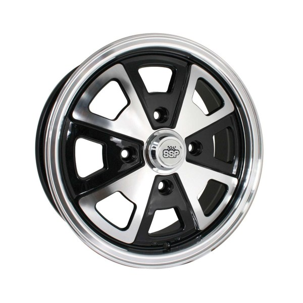 "Felga SSP 914 Style Alloy Wheel Black 5.5Jx15"" VW Garbus, Karmann Ghia"