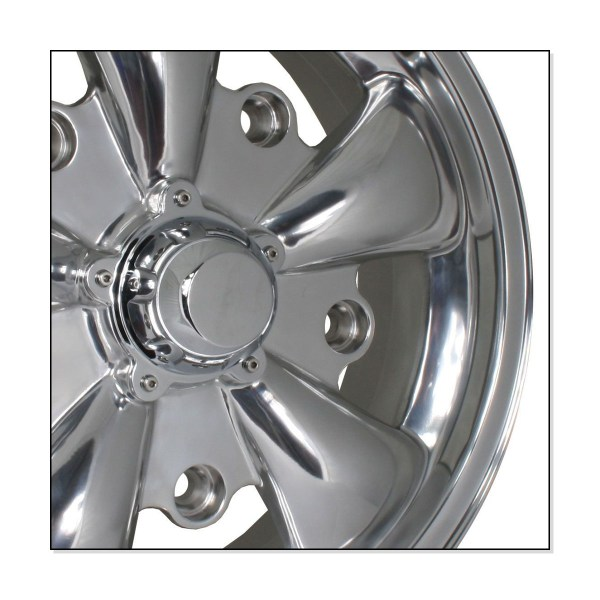 "Felga SSP GT 5 Spoke Polished Alloy Wheel 5.5Jx15"" VW Garbus, Bus T1"