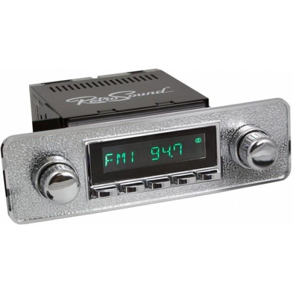Radio RetroSound HR Chrom Euro + Bluetooth