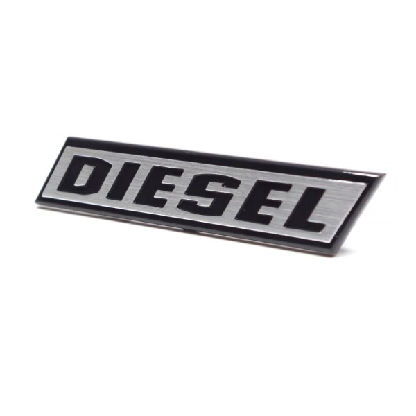 "171853679A Emblemat ""DIESEL"" Na Grill VW Golf 1, Caddy 1"