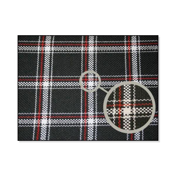 171881001 Materiał Foteli Biało-Czerwona Krata VW Golf 1 GTI