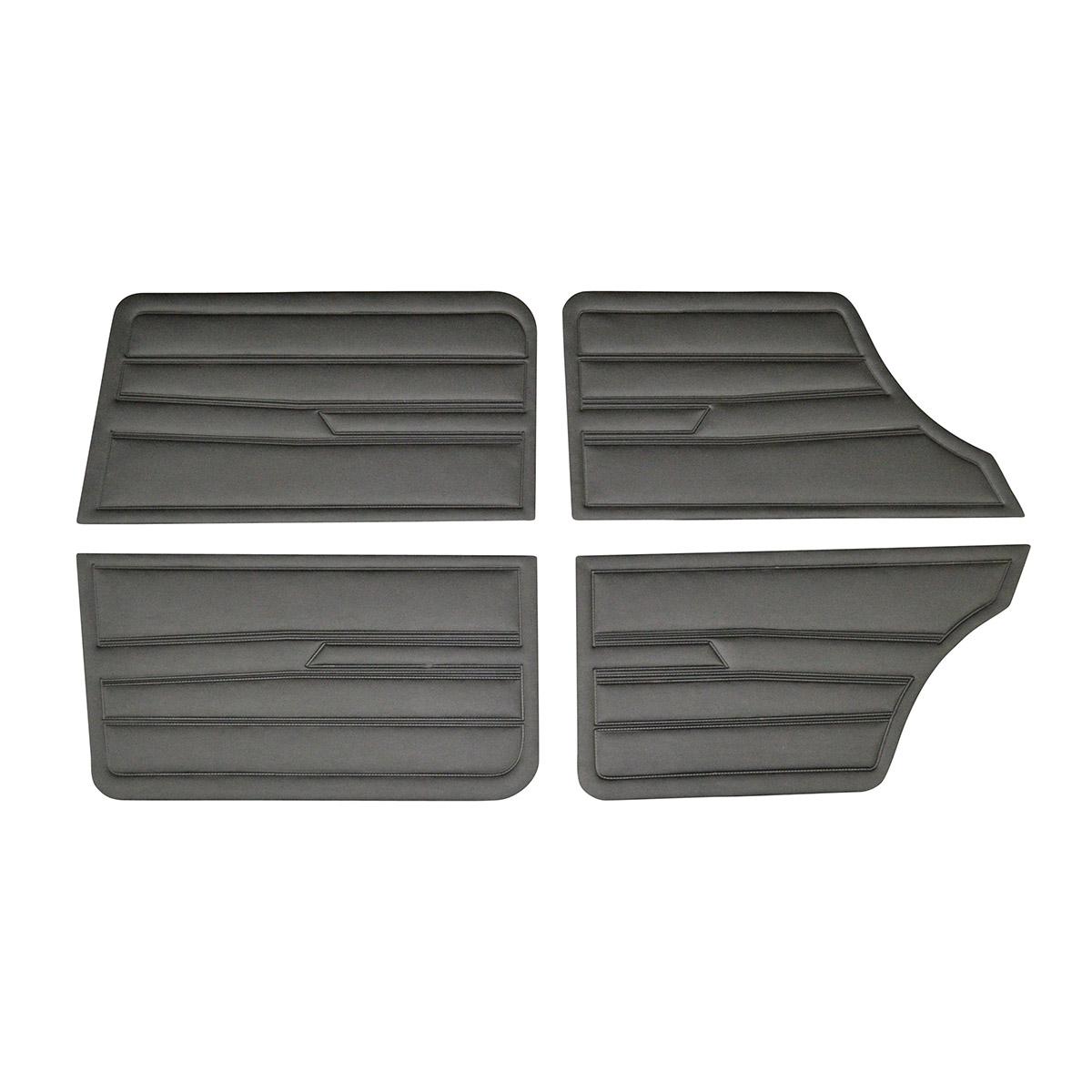 Tapicerki Boczne Czarne (Oem) VW Golf 1 (4D)