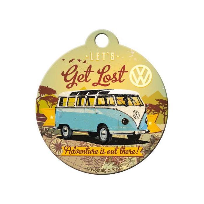 """Breloczek Do Kluczy """"Let's Get Lost"""" Volkswagen"""