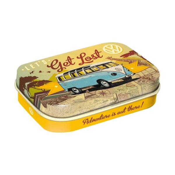 "Pastylki Miętowe (Mint Box) ""Let's Get Lost"" VW"