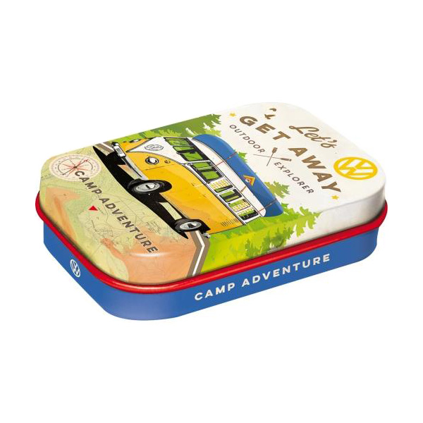 "Pastylki Miętowe (Mint Box) ""Let's Get Away"" VW Bulli"
