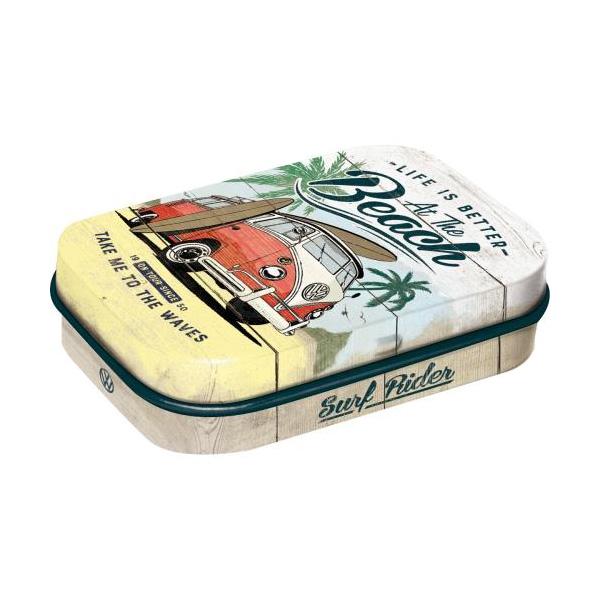 "Pastylki Miętowe (Mint Box) ""Beach"" VW Bulli"