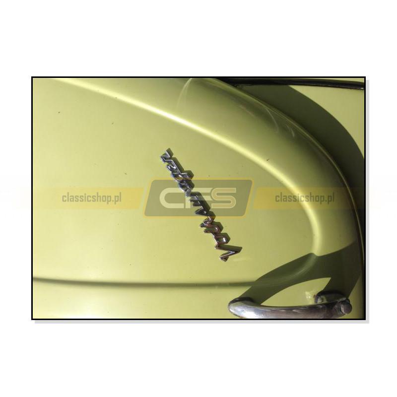 "Emblemat ""Volkswagen"" Chromowany VW Bus T1/T2, Garbus"
