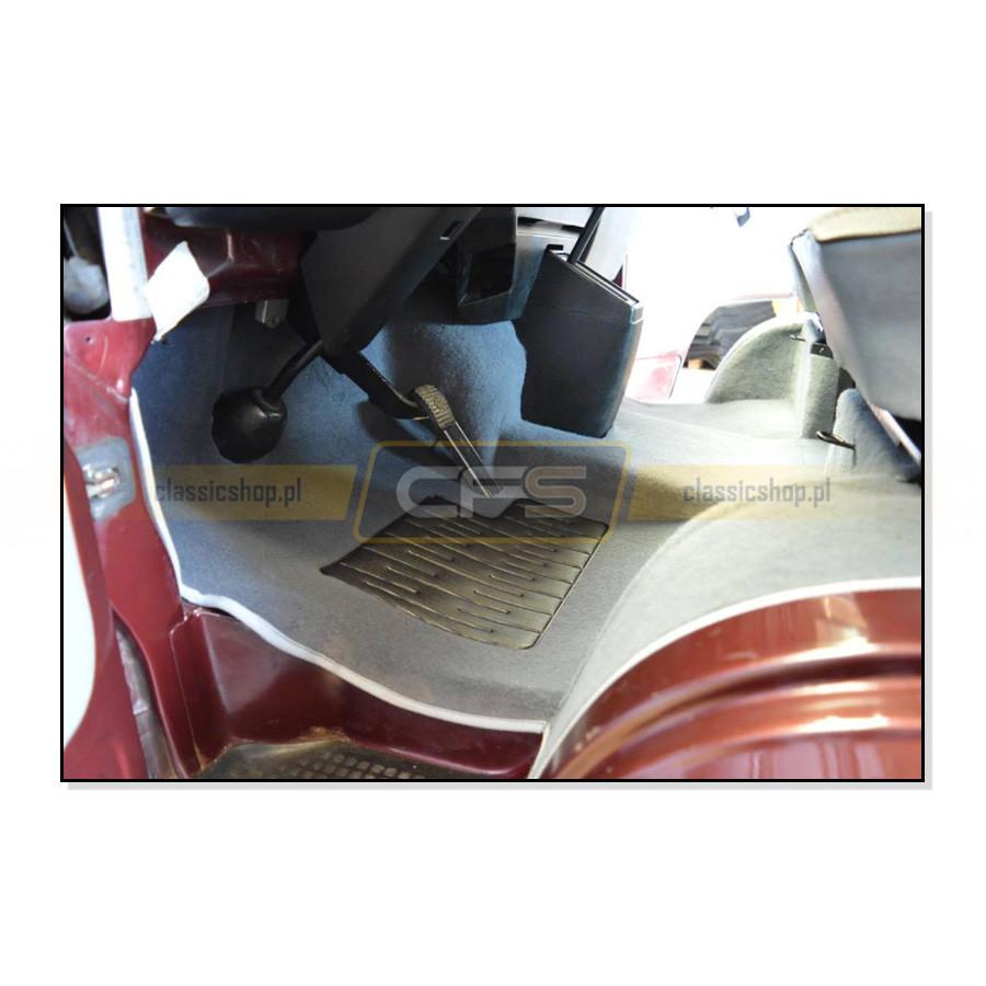 Dywany Podłogi Szare (Komplet) VW Bus T3 (Turbo Diesel)