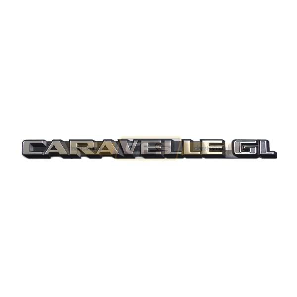 "Emblemat Tylny ""Caravelle GL"" VW Bus T3"