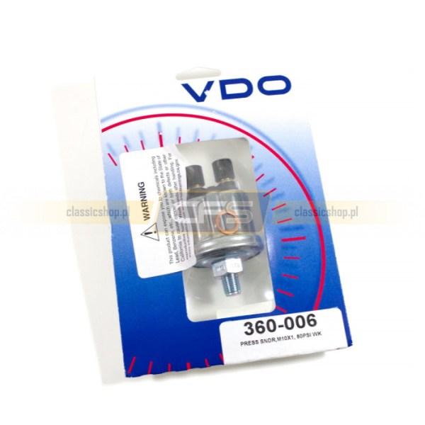 Czujnik Ciśnienie Oleju 10 Bar (VDO)