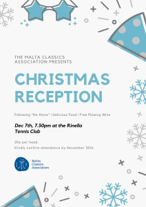 Christmas lunch with the MCA