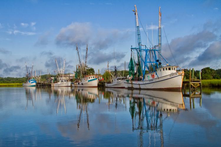 Shrimpboats @ Harbor Island