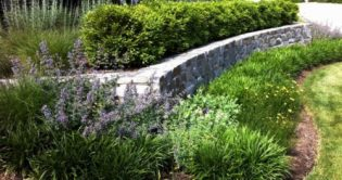 Classic stonescaping landscape 1