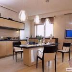 Освещение в кухне – интерьер кухни