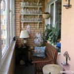 Как на балконе сделать место для отдыха