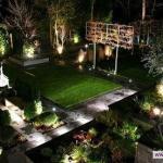 Освещение на садовом участке