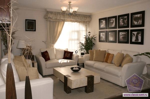 Как создать уют в гостиной?