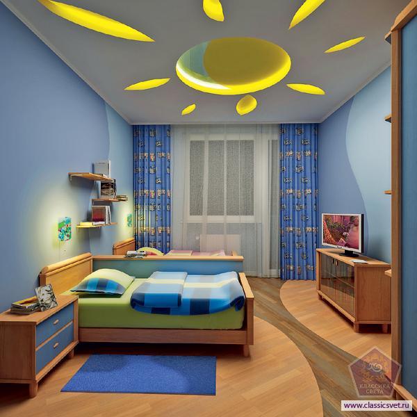 «Умный свет» в детской комнате