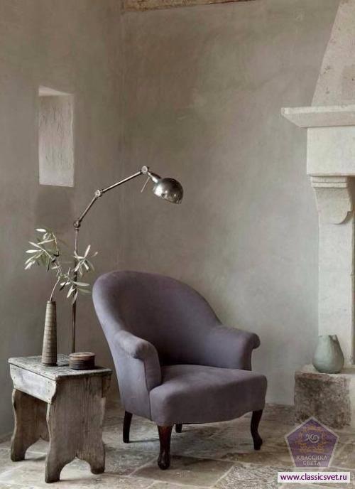 Кресло и торшер - главный элемент интерьера 02