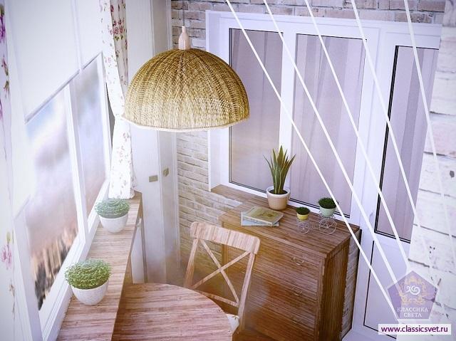 балкон в стиле Прованс