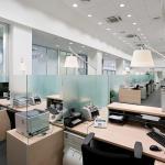 Интерьер офиса в стиле хай-тек