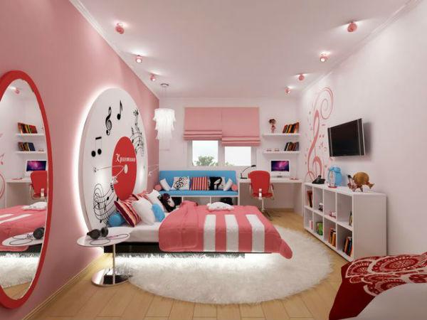 Детская комната. Освещение