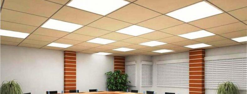 Офисные светильники встраиваемые