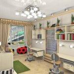 Обустройство детской комнаты. Освещение