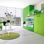 Сочетание зеленого цвета в интерьере. Освещение