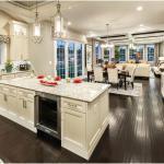 Правила кухонного комфорта с освещением