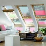 Преимущества мансардных окон с освещением