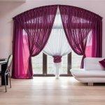 Как правильно выбрать подходящие шторы для спальни при свете?