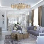 Каких вариантов расположения мебели лучше избегать при обустройстве интерьера дома с освещением?