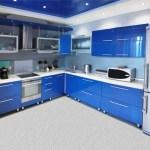 Кухня в стиле хай-тек, советы по оформлению интерьера с освещением