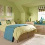 Цвета в спальне спальня в ярких цветах при свете