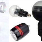 Творческое использование вспышки лампы