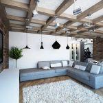 Дизайн интерьера при свете