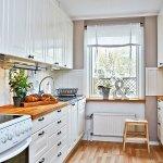Дизайн кухни как обустроить зону вокруг мойки со светом