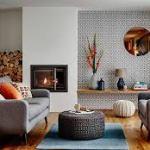 Нетрадиционный домашний дизайн интерьера со светом