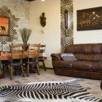 Обустройство гостиной. Африканский стиль в современный интерьер. Освещение.