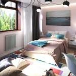 Детская комната с яркими аксессуарами и светом