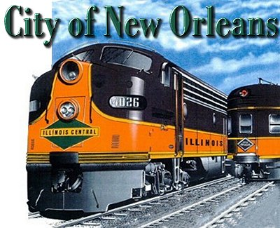 Image result for city of new orleans train pictures