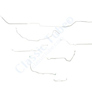 Buick GS  Brake Line Kit  Hardtop - Power Drum -1970