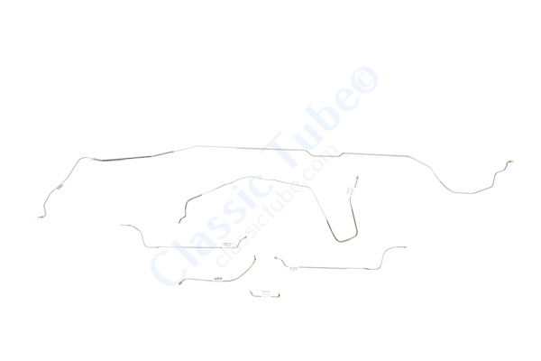 Buick GS Brake Line Kit  Hardtop - Standard Drum - V8 -1964,1965